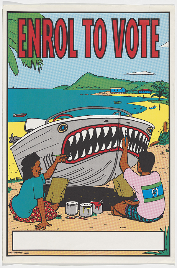 The Aboriginal and Torres Strait Islander Electoral Information Service was disbanded in 1996.