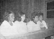 Four young ladies from Murrin Bridge, NSW (c1966)