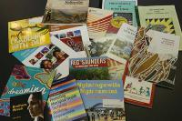 A selection of titles from the AIATSIS pamphlet collection.