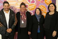 The Family History Unit, (L-R) PJ, Judy, Narelle and Kayannie