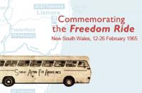 Commemorating the Freedom Ride banner