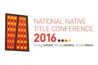National Native Title Conference 2016 logo