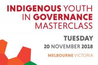 Indigenous Youth in Governance Masterclass logo