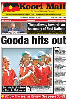 Cover of Koori Mail issue 616