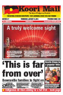 Cover of Koori Mail issue 617