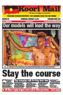 Cover of Koori Mail issue 619