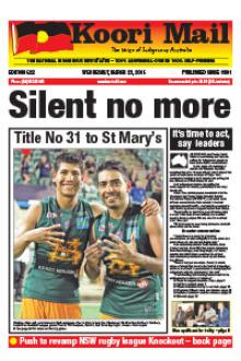 Cover of Koori Mail issue 622