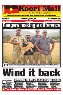 Cover of Koori Mail issue 623