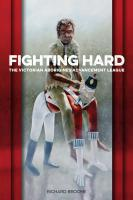 The front cover of the book Fighting Hard: The Victorian Aborigines Advancement League.