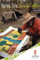 Native Title Newsletter - April 2015 cover