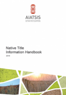 National Native Title Handbook cover