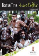 Cover of August 2015 Native Title Newsletter