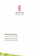 Peacemaking Selected bibliography cover