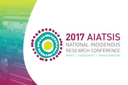 AIATSIS National Indigenous Research Conference 2017 logo