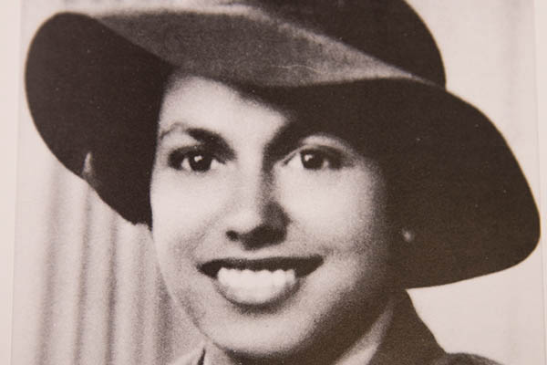 Oodgeroo Noonuccal, a signaller for the Australian Women's Army Service during World War II.
