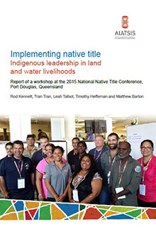 Implementing Native Title cover
